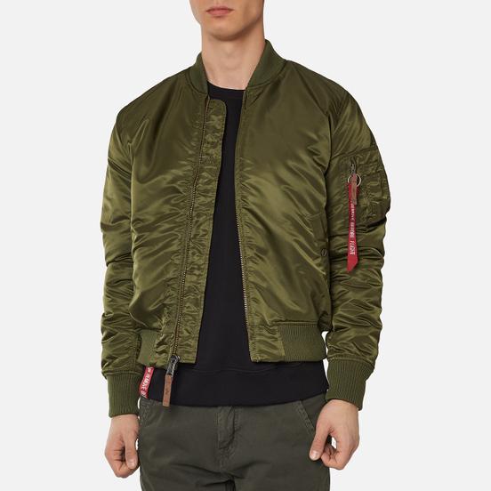 Мужская куртка бомбер Alpha Industries MA-1 VF 59 Dark Green