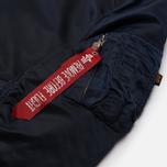 Мужская куртка бомбер Alpha Industries MA-1 VF 59 Replica Blue фото- 2