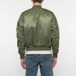 Мужская куртка бомбер Alpha Industries MA-1 VF 59 Sage Green фото- 7