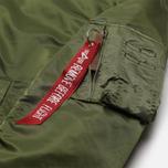 Мужская куртка бомбер Alpha Industries MA-1 VF 59 Sage Green фото- 2