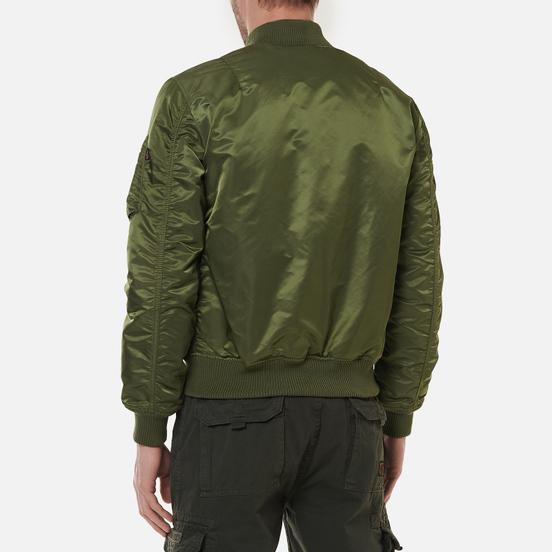 Мужская куртка бомбер Alpha Industries MA-1 VF 59 Sage Green