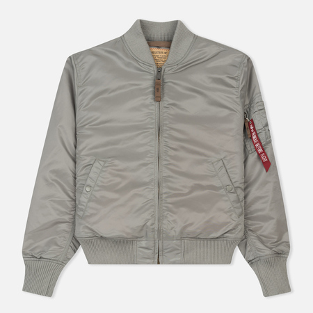 Мужская куртка бомбер Alpha Industries MA-1 VF 59 Silver