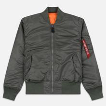 Мужская куртка бомбер Alpha Industries MA-1 Vintage Green фото- 0