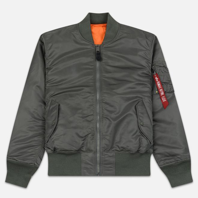 Мужская куртка бомбер Alpha Industries MA-1 Vintage Green
