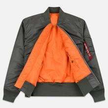 Мужская куртка бомбер Alpha Industries MA-1 Vintage Green фото- 2