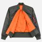 Мужская куртка бомбер Alpha Industries MA-1 Vintage Green фото - 2