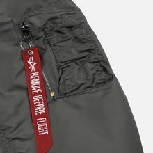 Мужская куртка бомбер Alpha Industries MA-1 Vintage Green фото- 3