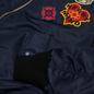 Мужская куртка бомбер Billionaire Boys Club Reversible Space Check MA-1 Navy фото - 2