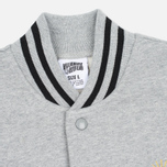 Мужская куртка бомбер Billionaire Boys Club Vegas Cotton Varsity Grey/Black фото- 1