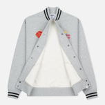 Мужская куртка бомбер Billionaire Boys Club Vegas Cotton Varsity Grey/Black фото- 2
