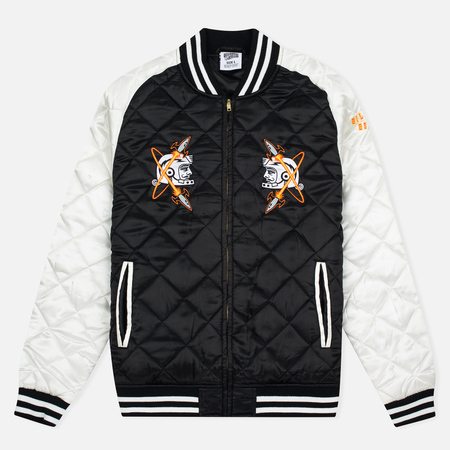 Мужская куртка бомбер Billionaire Boys Club Vegas Souvenir Black/Off White
