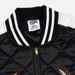 Мужская куртка бомбер Billionaire Boys Club Vegas Souvenir Black/Off White фото- 1