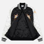Мужская куртка бомбер Billionaire Boys Club Vegas Souvenir Black/Off White фото- 2