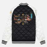 Мужская куртка бомбер Billionaire Boys Club Vegas Souvenir Black/Off White фото- 5