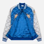 Мужская куртка бомбер Billionaire Boys Club Vegas Souvenir Blue/Silver фото- 2