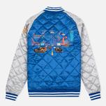 Мужская куртка бомбер Billionaire Boys Club Vegas Souvenir Blue/Silver фото- 5