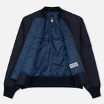 Мужская куртка бомбер Bleu De Paname Molleto Marine фото- 1