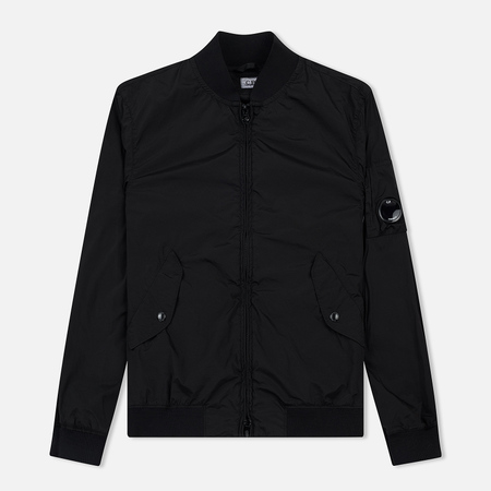 Мужская куртка бомбер C.P. Company MA-1 Nycra Lens Black