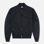 Мужская куртка бомбер C.P. Company Nycra Goggle Black фото- 0