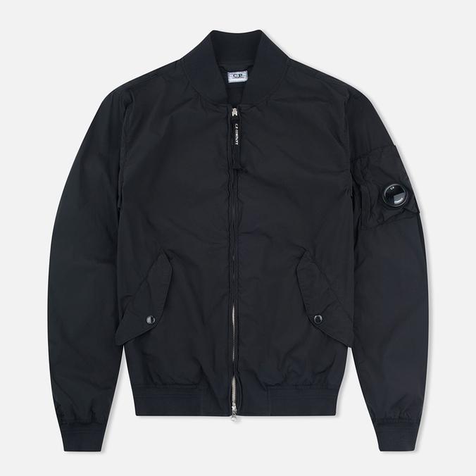 Мужская куртка бомбер C.P. Company Nycra Goggle Black