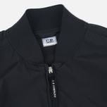 Мужская куртка бомбер C.P. Company Nycra Goggle Black фото- 2
