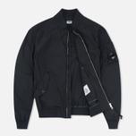 Мужская куртка бомбер C.P. Company Nycra Goggle Black фото- 1