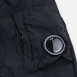 Мужская куртка бомбер C.P. Company Nycra Goggle Black фото- 5