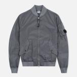 Мужская куртка бомбер C.P. Company Nycra Goggle Grey фото- 0