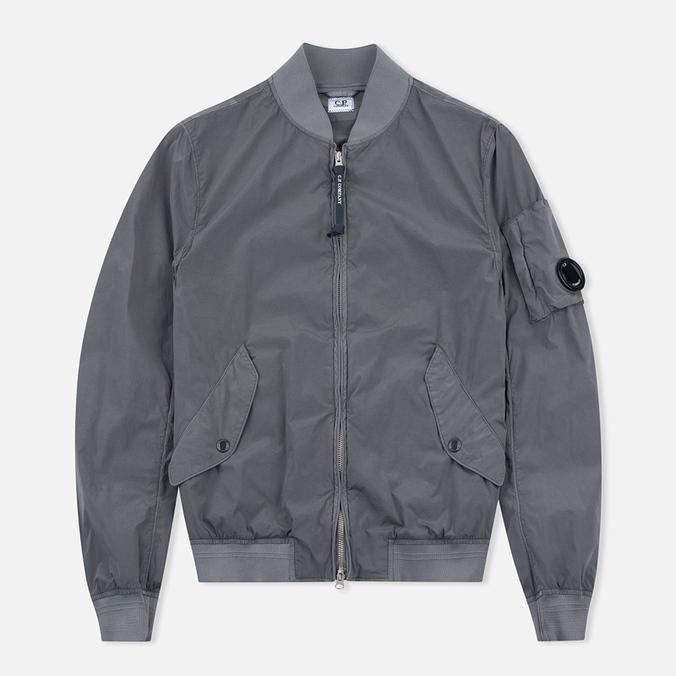 Мужская куртка бомбер C.P. Company Nycra Goggle Grey
