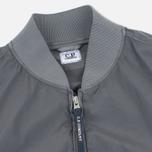 Мужская куртка бомбер C.P. Company Nycra Goggle Grey фото- 2