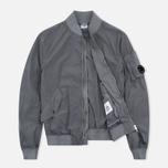 Мужская куртка бомбер C.P. Company Nycra Goggle Grey фото- 1