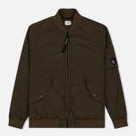 Мужская куртка бомбер C.P. Company Nycra Lens Dark Olive фото- 0