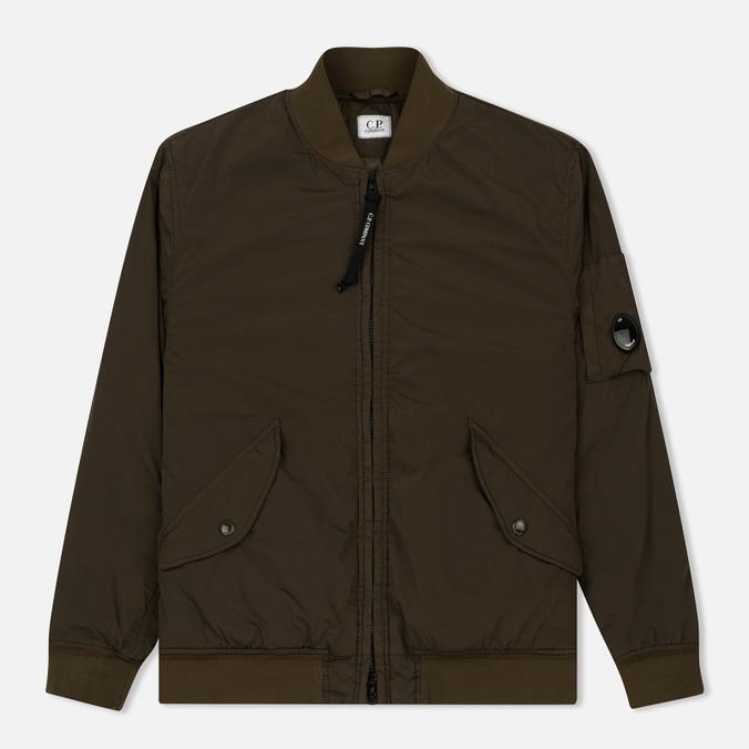 Мужская куртка бомбер C.P. Company Nycra Lens Dark Olive