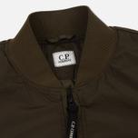 Мужская куртка бомбер C.P. Company Nycra Lens Dark Olive фото- 2