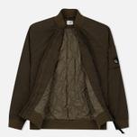 Мужская куртка бомбер C.P. Company Nycra Lens Dark Olive фото- 1