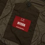 Мужская куртка бомбер C.P. Company Nycra Lens Dark Olive фото- 3