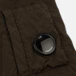 Мужская куртка бомбер C.P. Company Nycra Lens Dark Olive фото- 6
