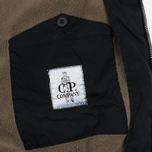 Мужская куртка бомбер C.P. Company Nycra MA-1 Over-Dyed Polar Fleece Lining Black фото- 5
