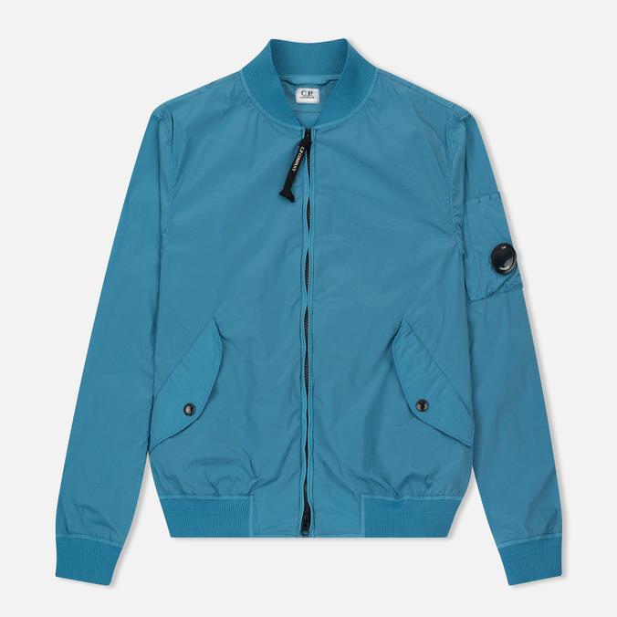 Мужская куртка бомбер C.P. Company Nycra Turquoise