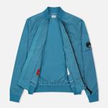Мужская куртка бомбер C.P. Company Nycra Turquoise фото- 1