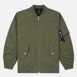 Мужская куртка бомбер Carhartt WIP Adams Dollar Green фото- 0