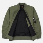 Мужская куртка бомбер Carhartt WIP Adams Dollar Green фото- 1