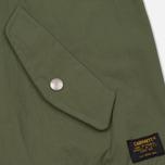 Мужская куртка бомбер Carhartt WIP Adams Dollar Green фото- 3