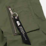 Мужская куртка бомбер Carhartt WIP Adams Dollar Green фото- 5