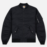 Carhartt WIP Ashton 5.5 Oz Men's Bomber Black/Black photo- 0