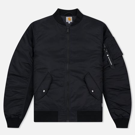 Мужская куртка бомбер Carhartt WIP Ashton 5.5 Oz Black/Black