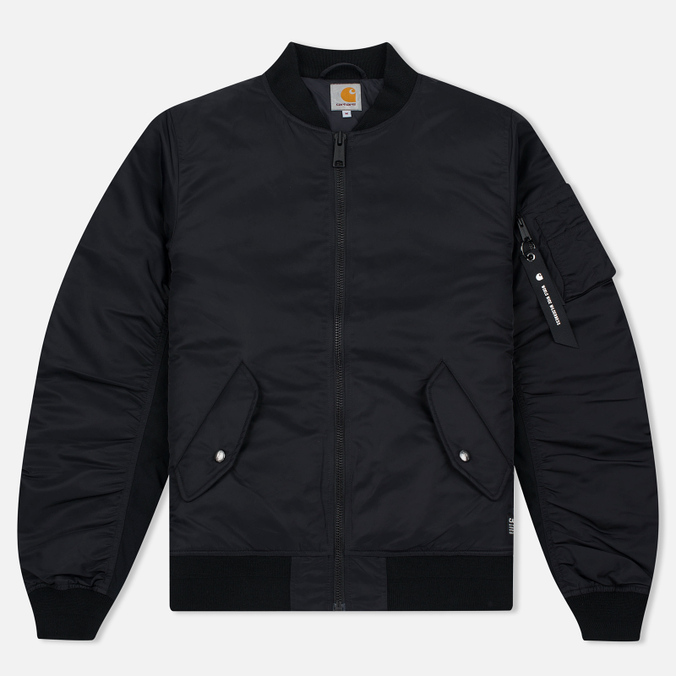 Carhartt WIP Ashton 5.5 Oz Men's Bomber Black/Black