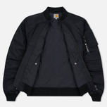 Carhartt WIP Ashton 5.5 Oz Men's Bomber Black/Black photo- 2