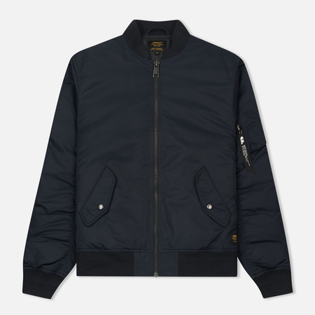 Мужская куртка бомбер Carhartt WIP Ashton 5.5 Oz Dark Navy