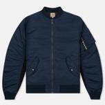Мужская куртка бомбер Carhartt WIP Ashton 5.5 Oz Navy/Black фото- 0